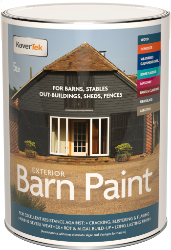 Barn Paint For Multiple Surfaces (Wood, Metal, Weathered Galv & More)