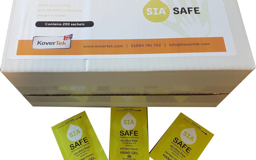 "New Antibacterial Alcohol Free ""Skin Kind"" Hand Sanitiser Meets BS EN1276 ….Back To Work Safety"